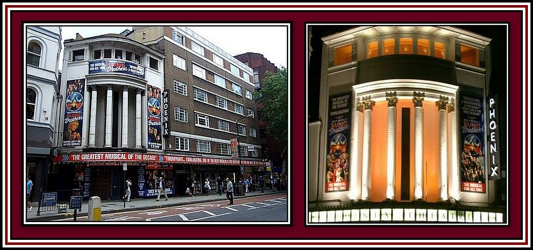 Phoenix - Charing Cross Road Collage