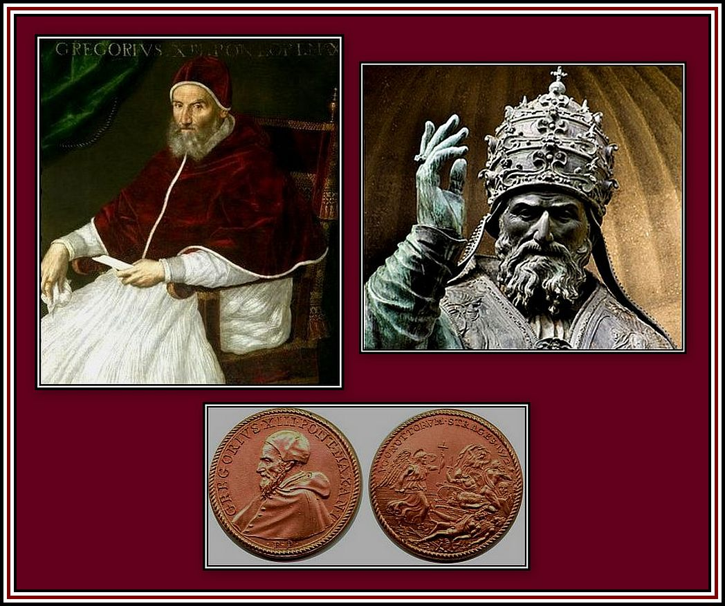 Pope Gregory XIII Collage