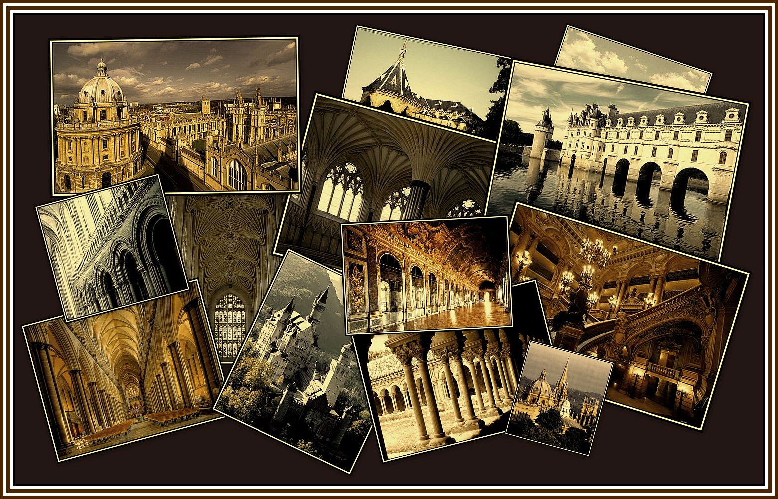 Sepia with border