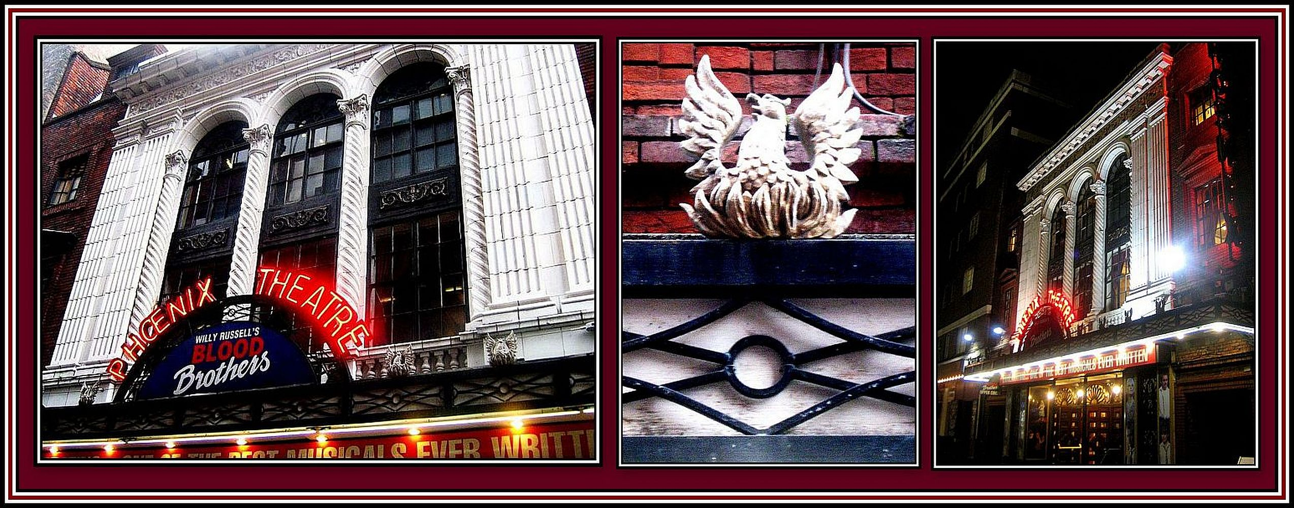The Phoenix Exterior Collage