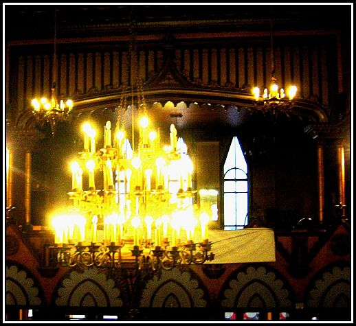 2. Central Chandelier - used