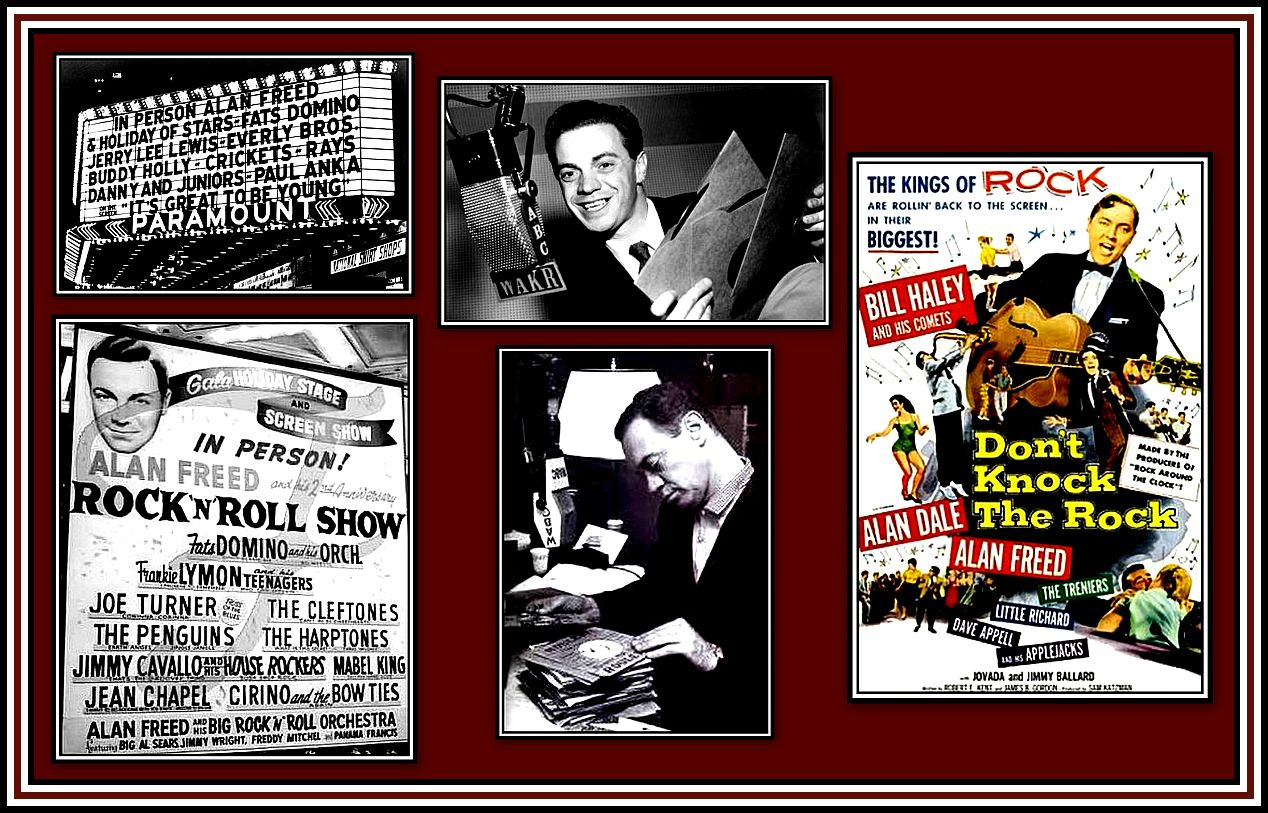 Alan Freed Collage