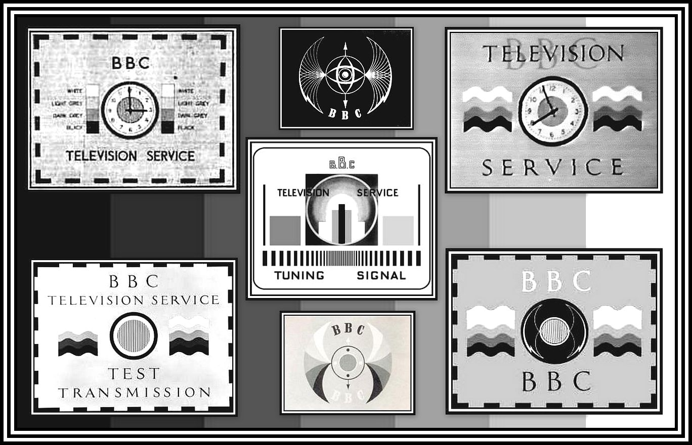 BBC Test Cards Collage