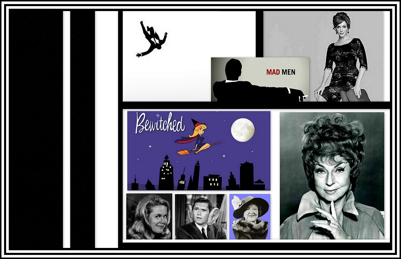 Bewitched- Mad Men Collage