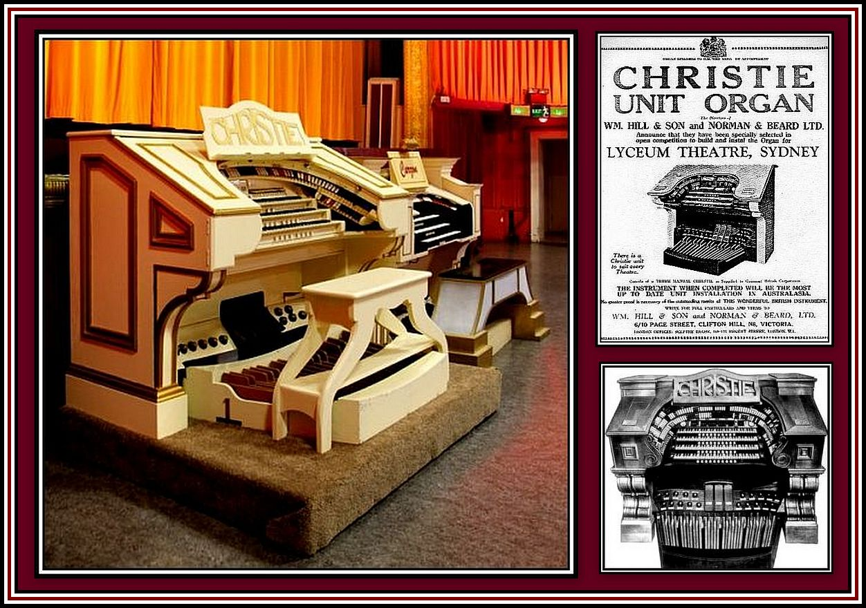 Christie Organ Collage