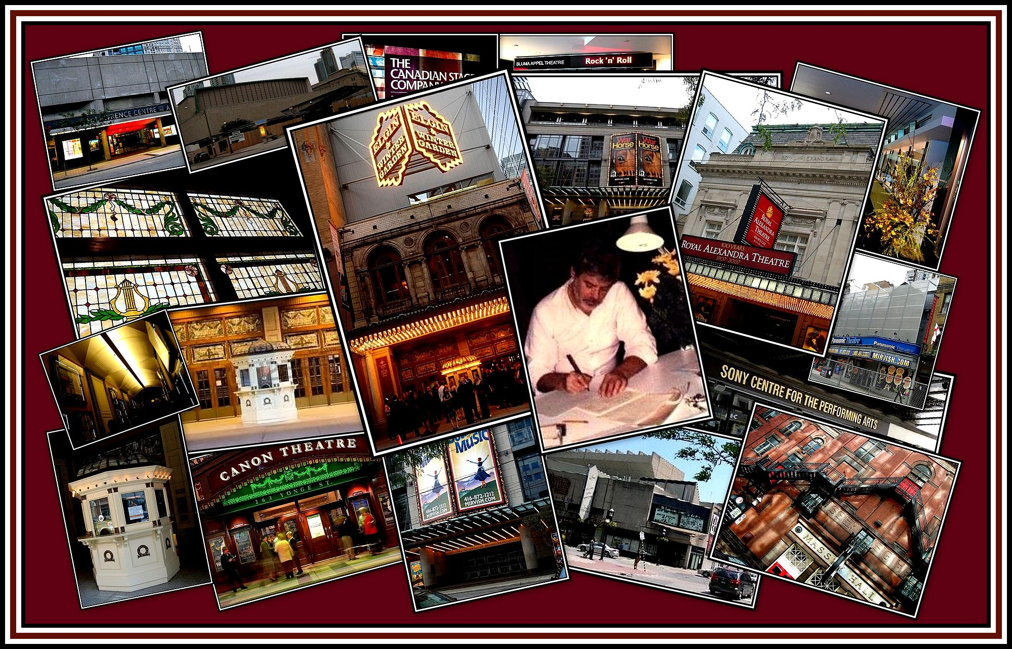 Clair & Toronto Theatres Collage