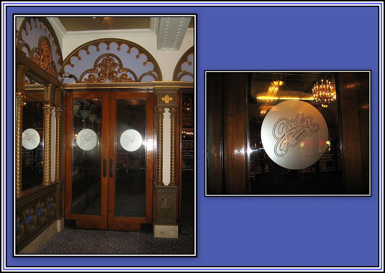Doors to Grand Foyer Collage