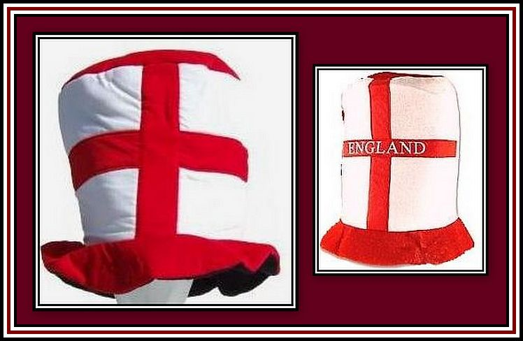 England Hats Collage