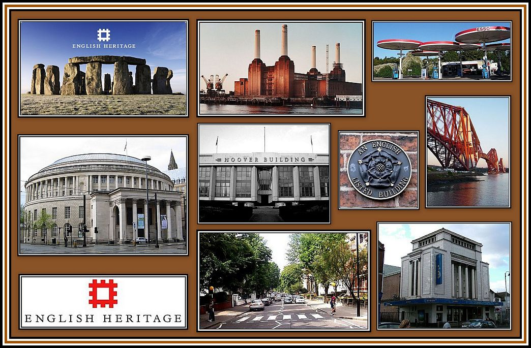 English Heritage Collage