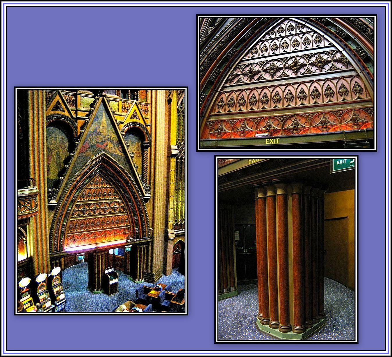 Goth Arch detail - collage