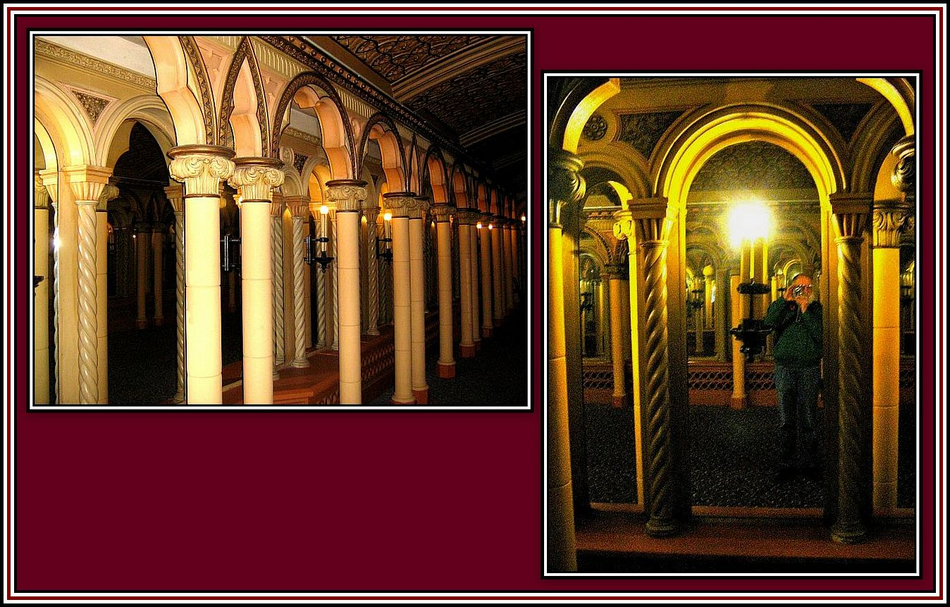 Hall of Mirrors Reflections Collage