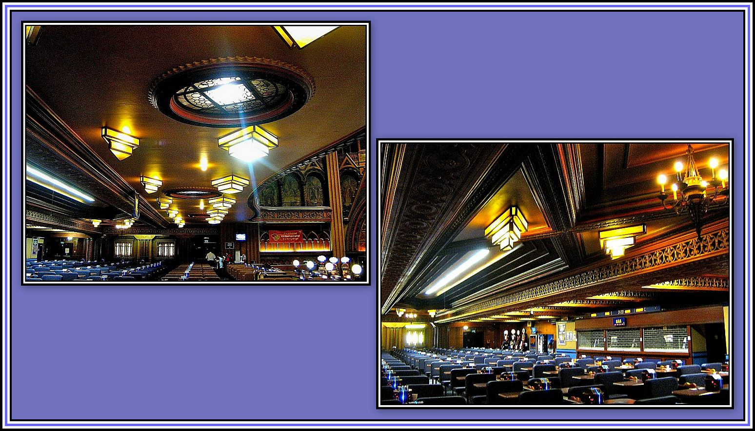 Lamps under the Circle Collage - 2