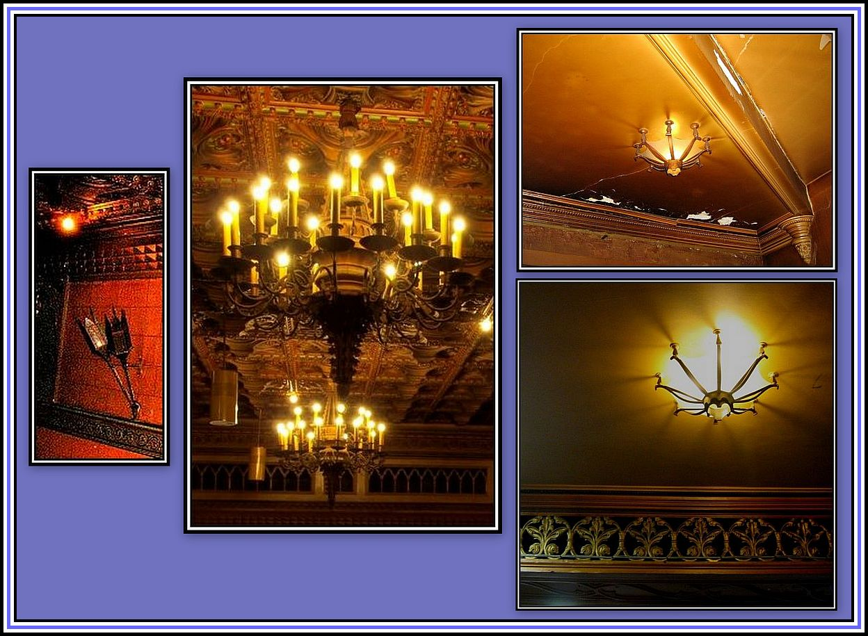 Lights of the Circle Collage
