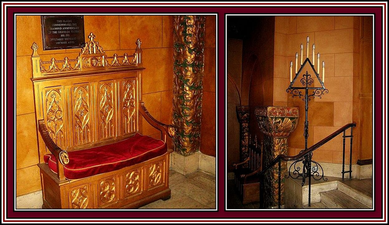 Long Chair and Candle Holder Collage