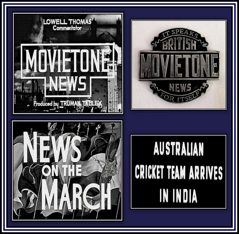 Movietone News Collage