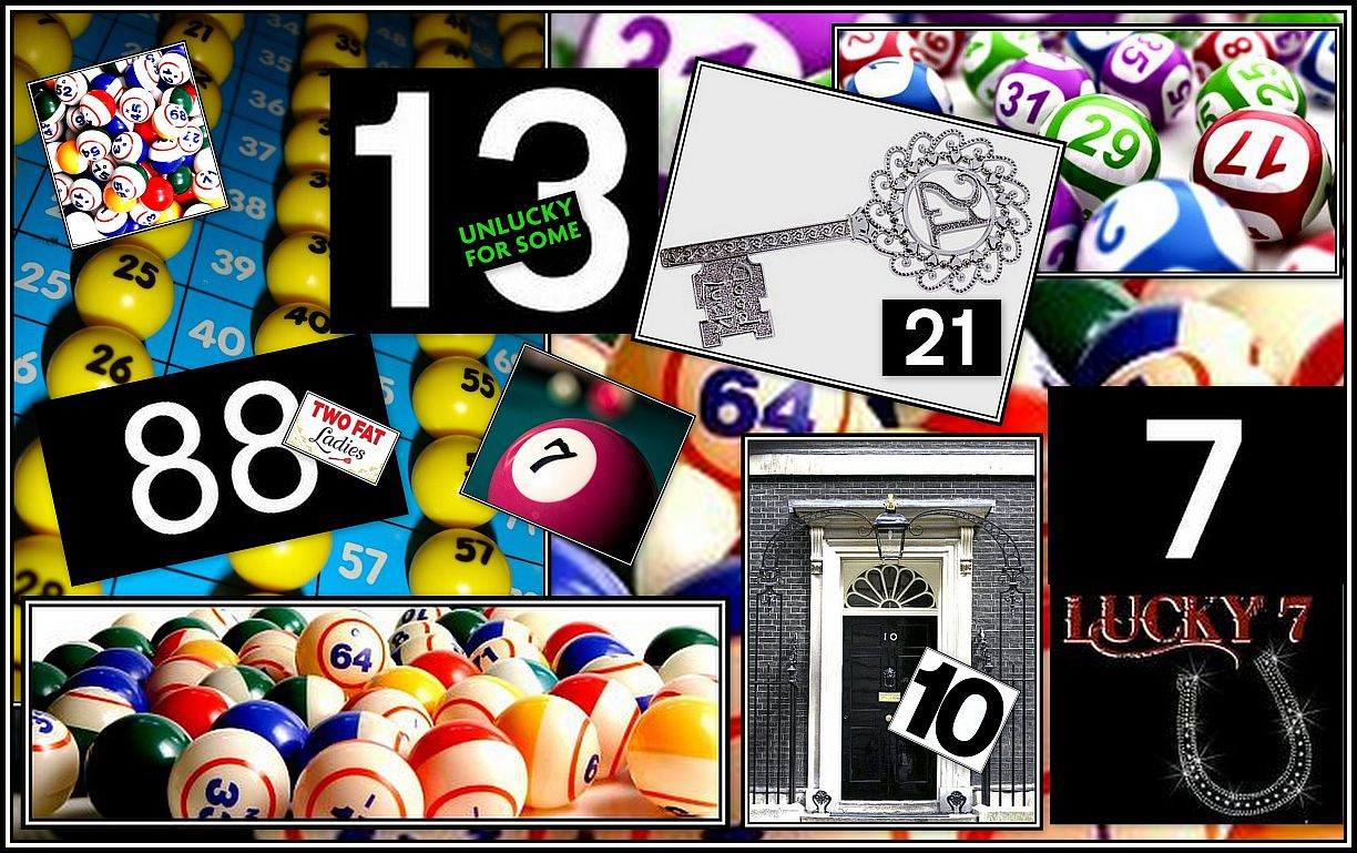Numbers Collage