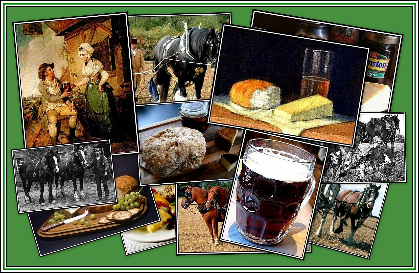 Ploughman's Lunch Collage