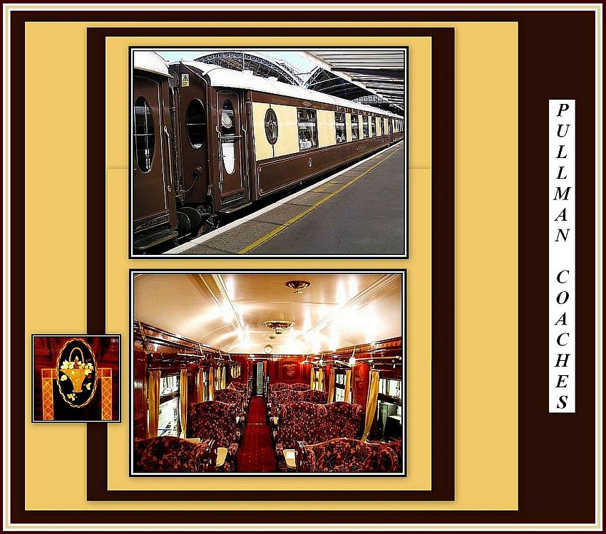 Pullman Coaches Collage