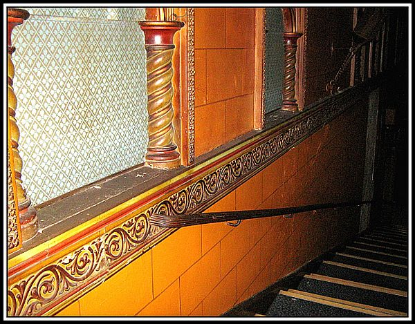Side stair case - Circle