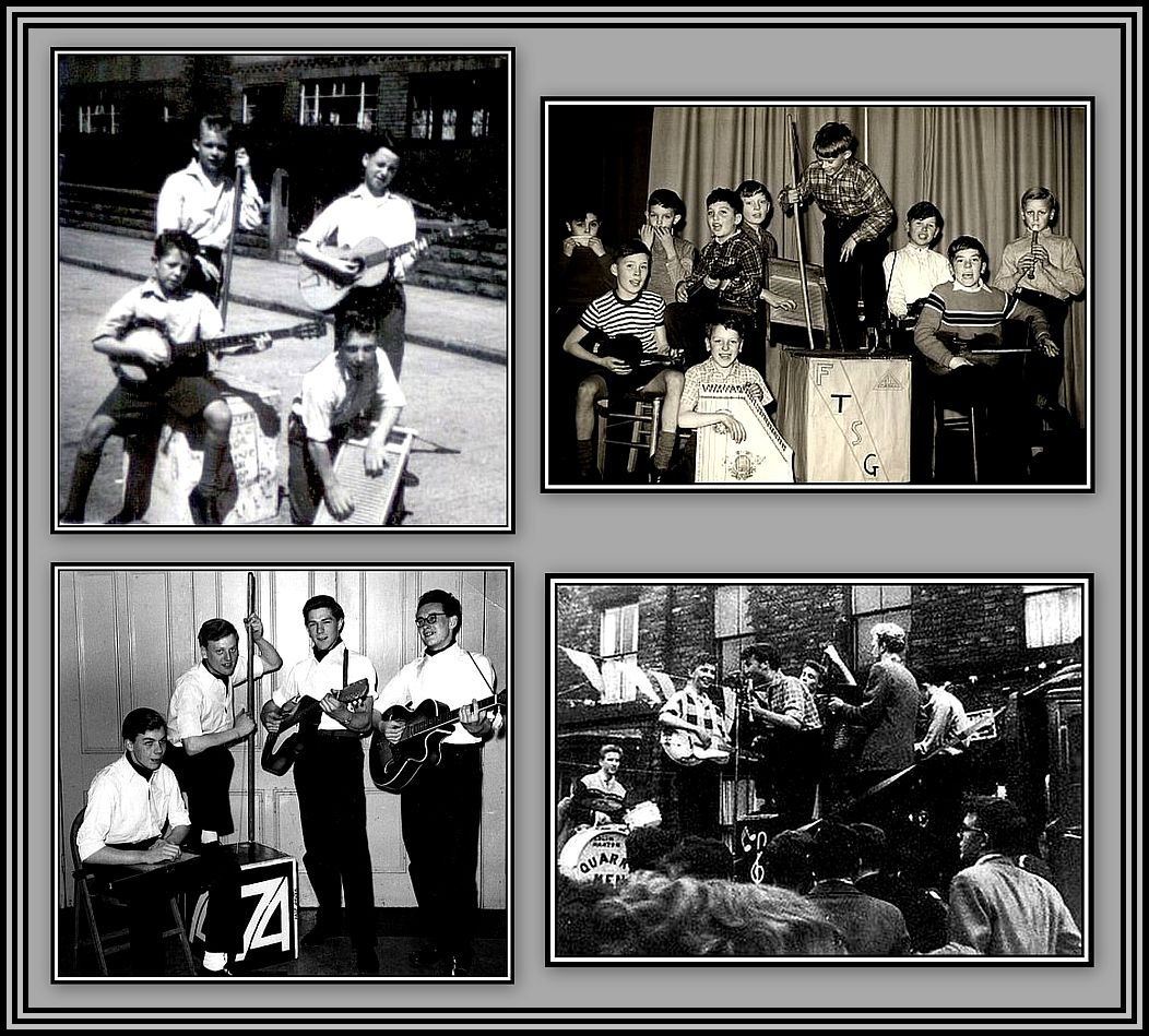Skiffle Groups Collage