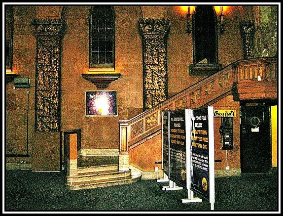 Steps to The Minstrel Gallery