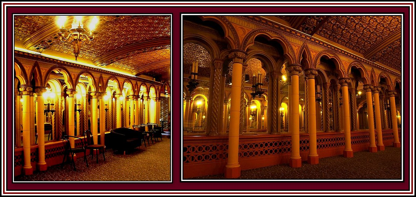 The Hall of Mirrors - Full and Sub-Dued Light - Collage