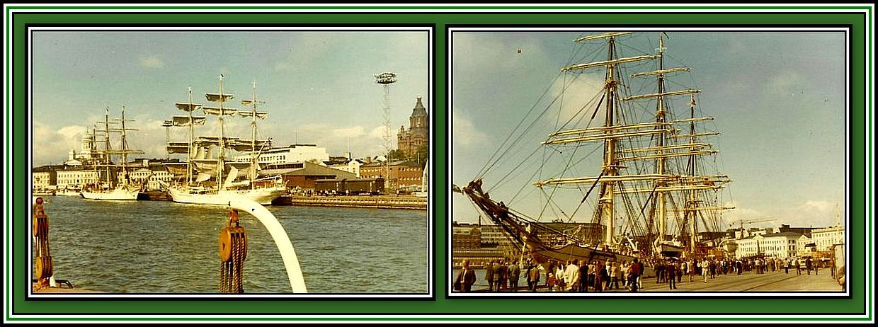 The Tall Ships Collage