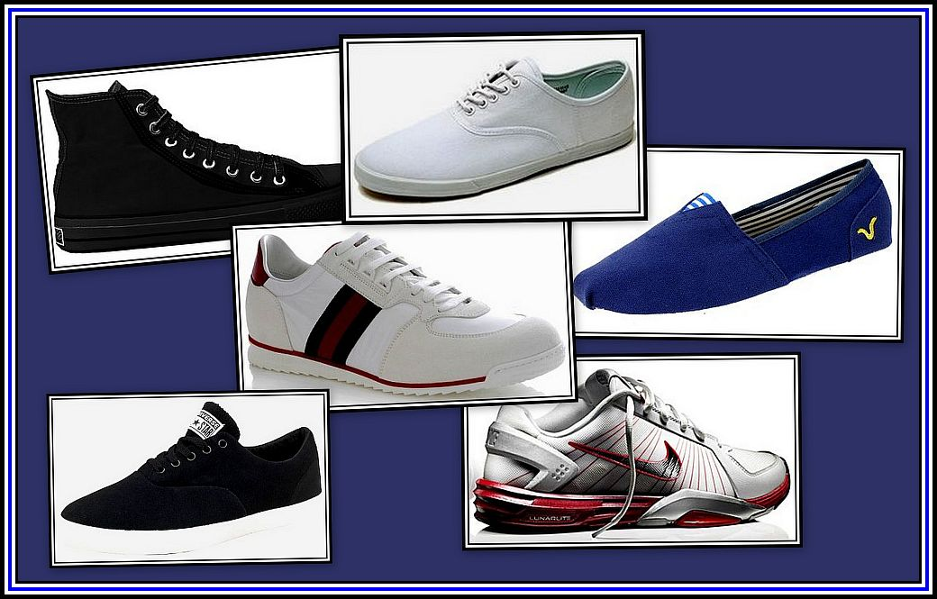 Trainers and Plimsoles Collage