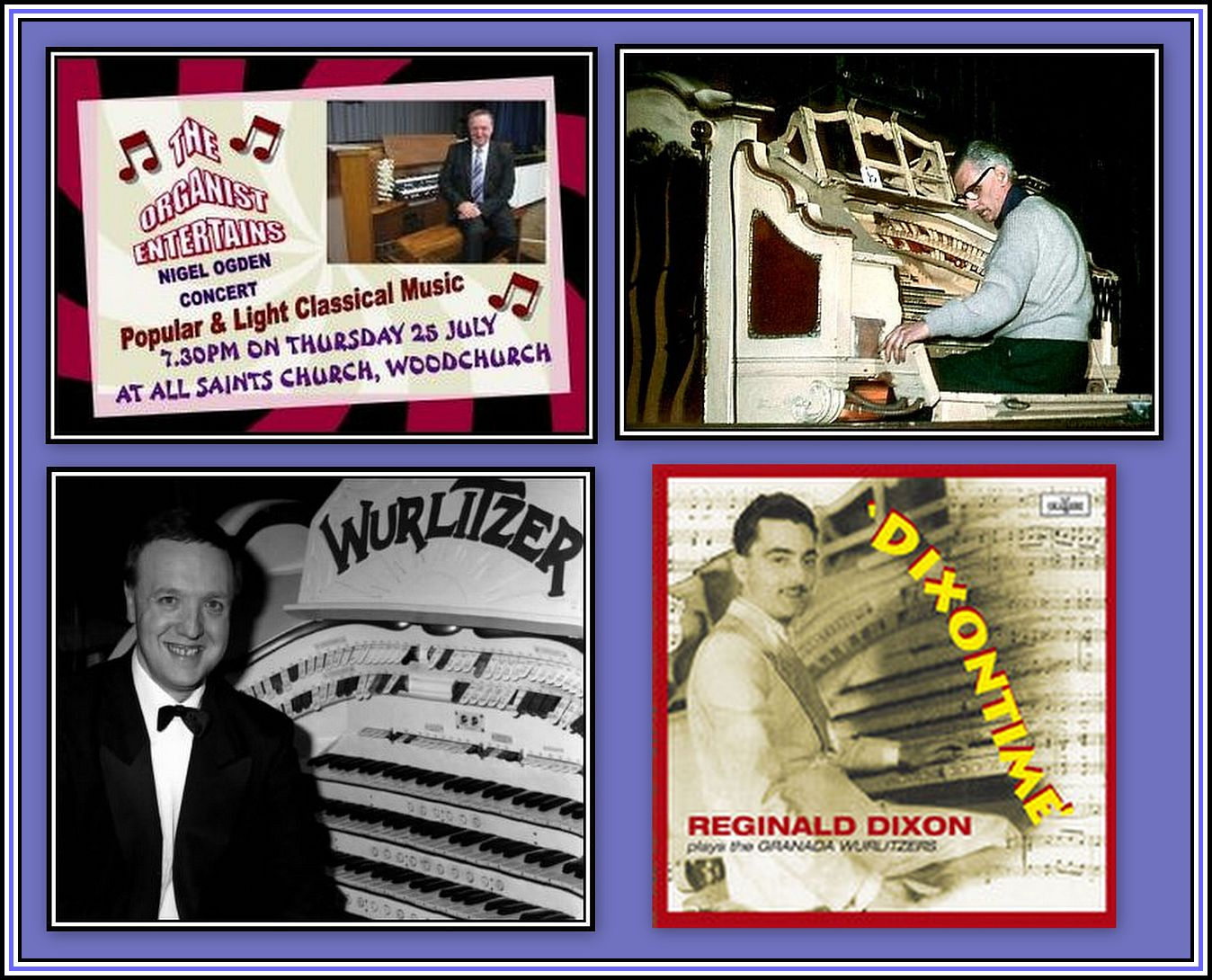 Wurlitzer Collage with the giants
