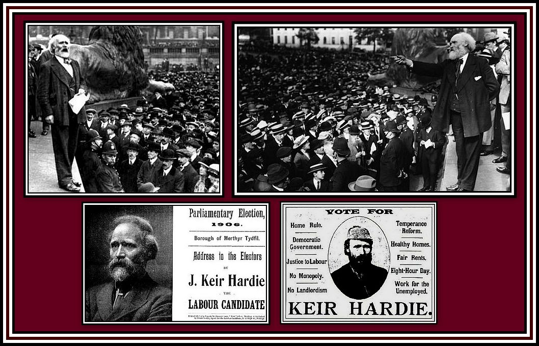 Keir Hardie Collage