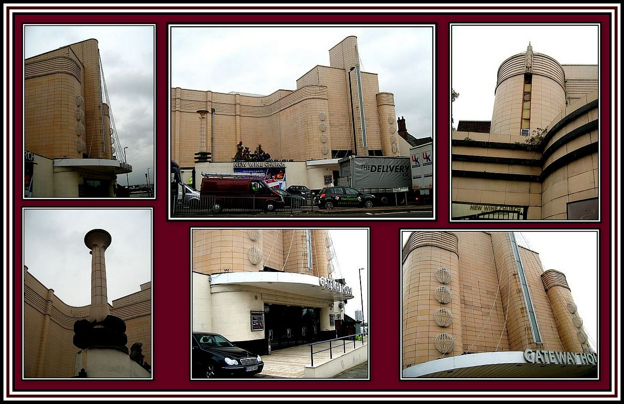 Odeon Woolwich today Collage