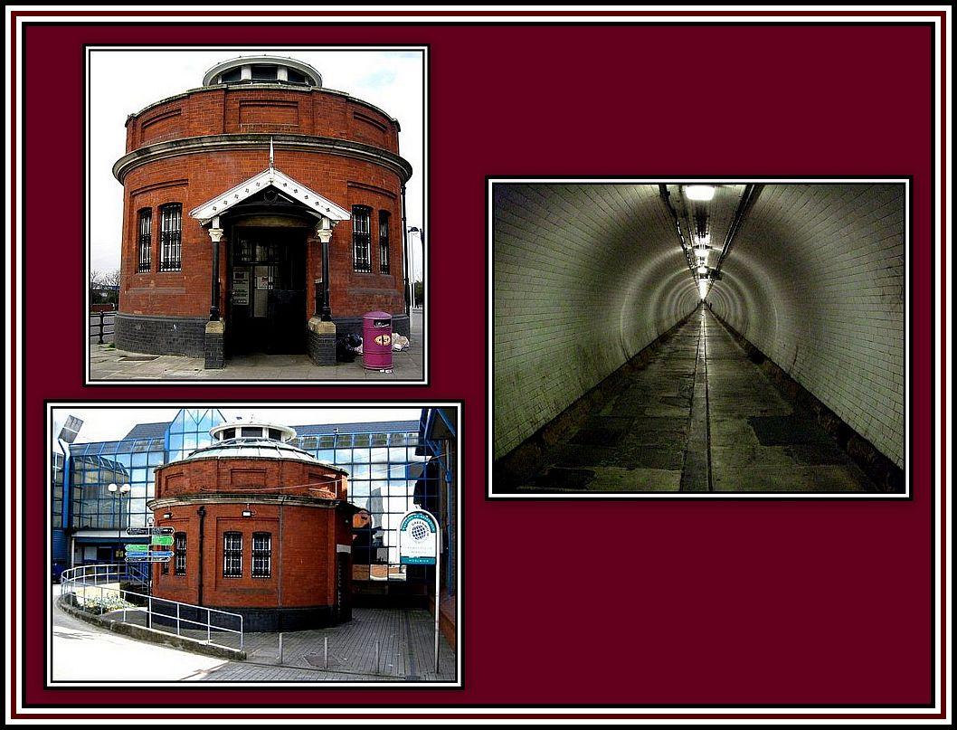 The Foot Tunnel Collage