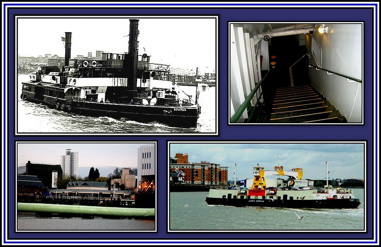 Woolwich Ferry Collage