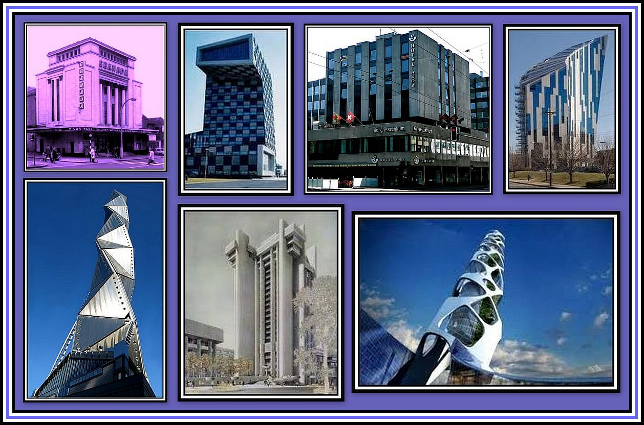 Buildings Collage