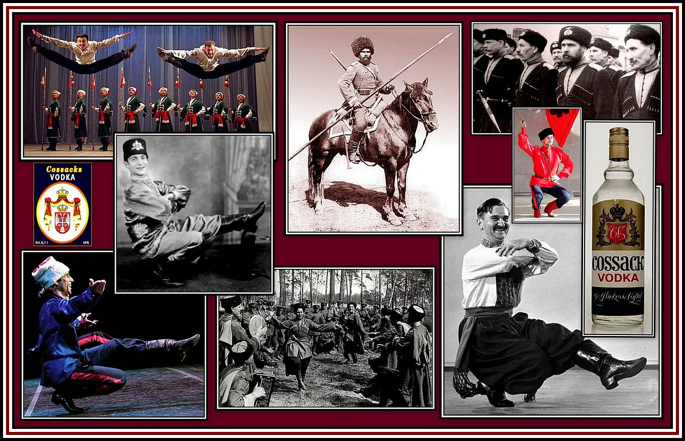 Cossack Collage