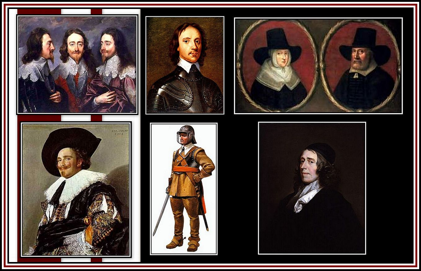English Civil War Collage