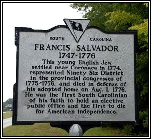 Francis Salvador road sign