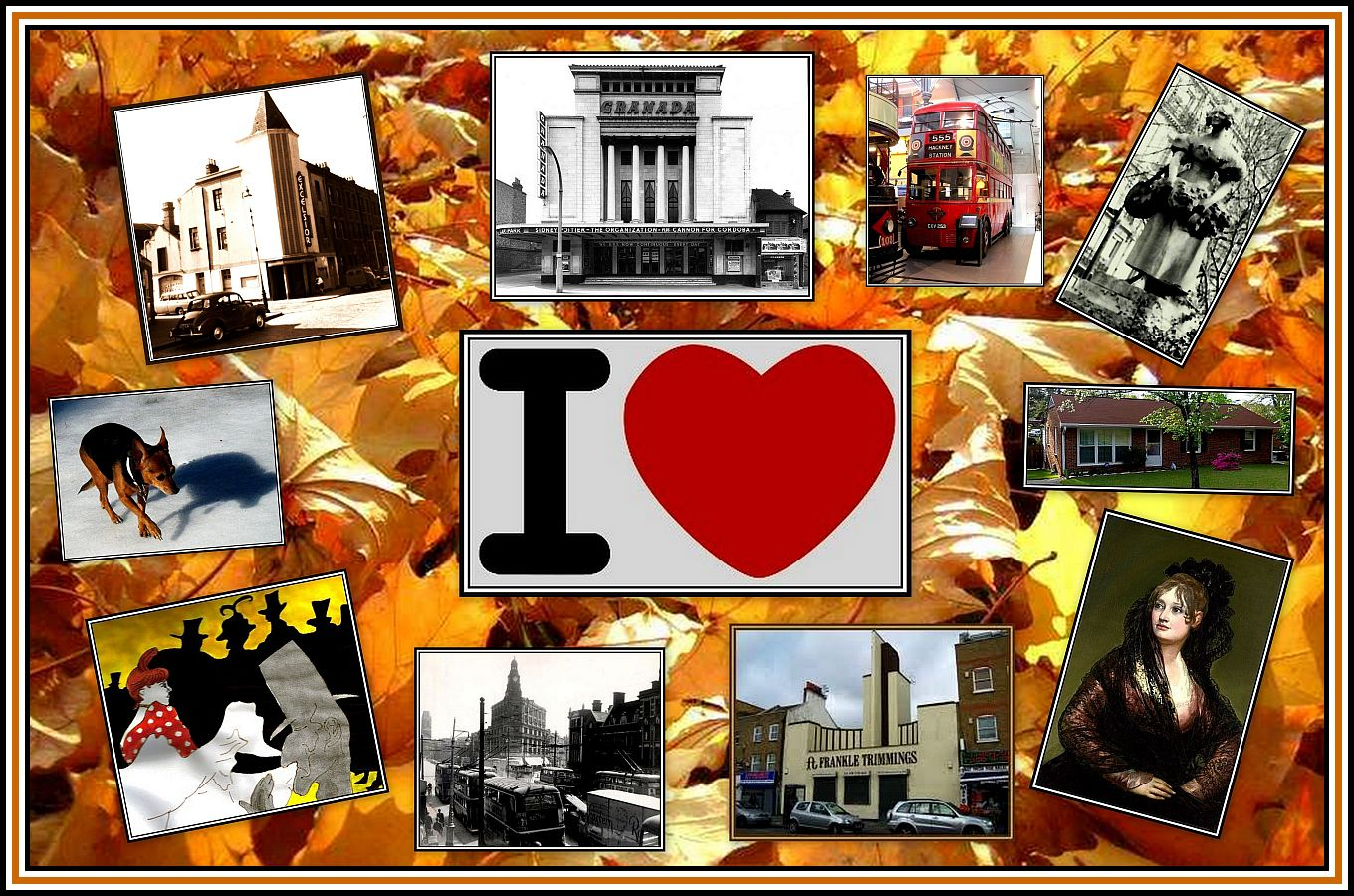 I heart Collage