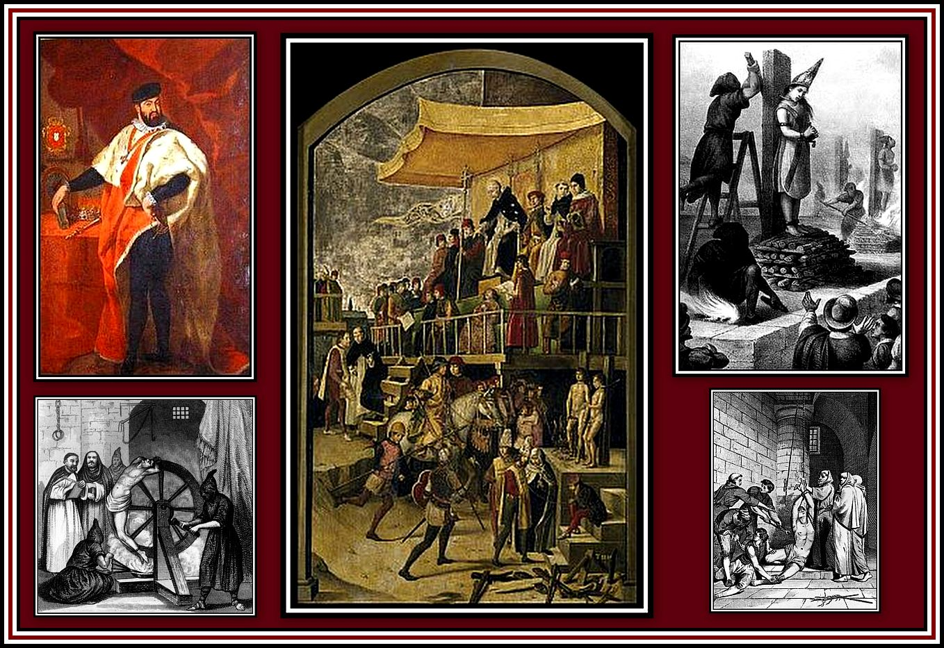 Inquisition Collage