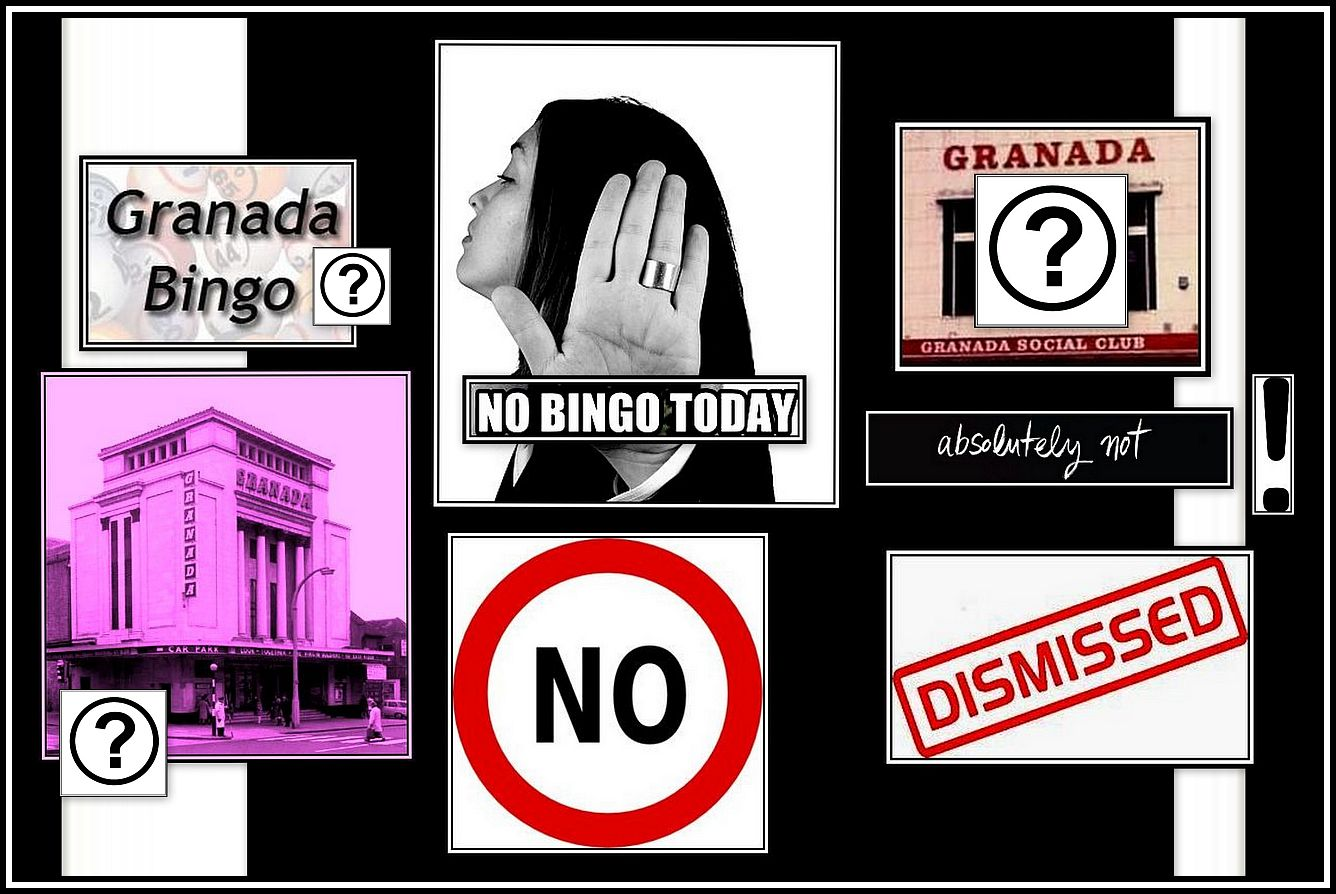 No to Bingo Collage