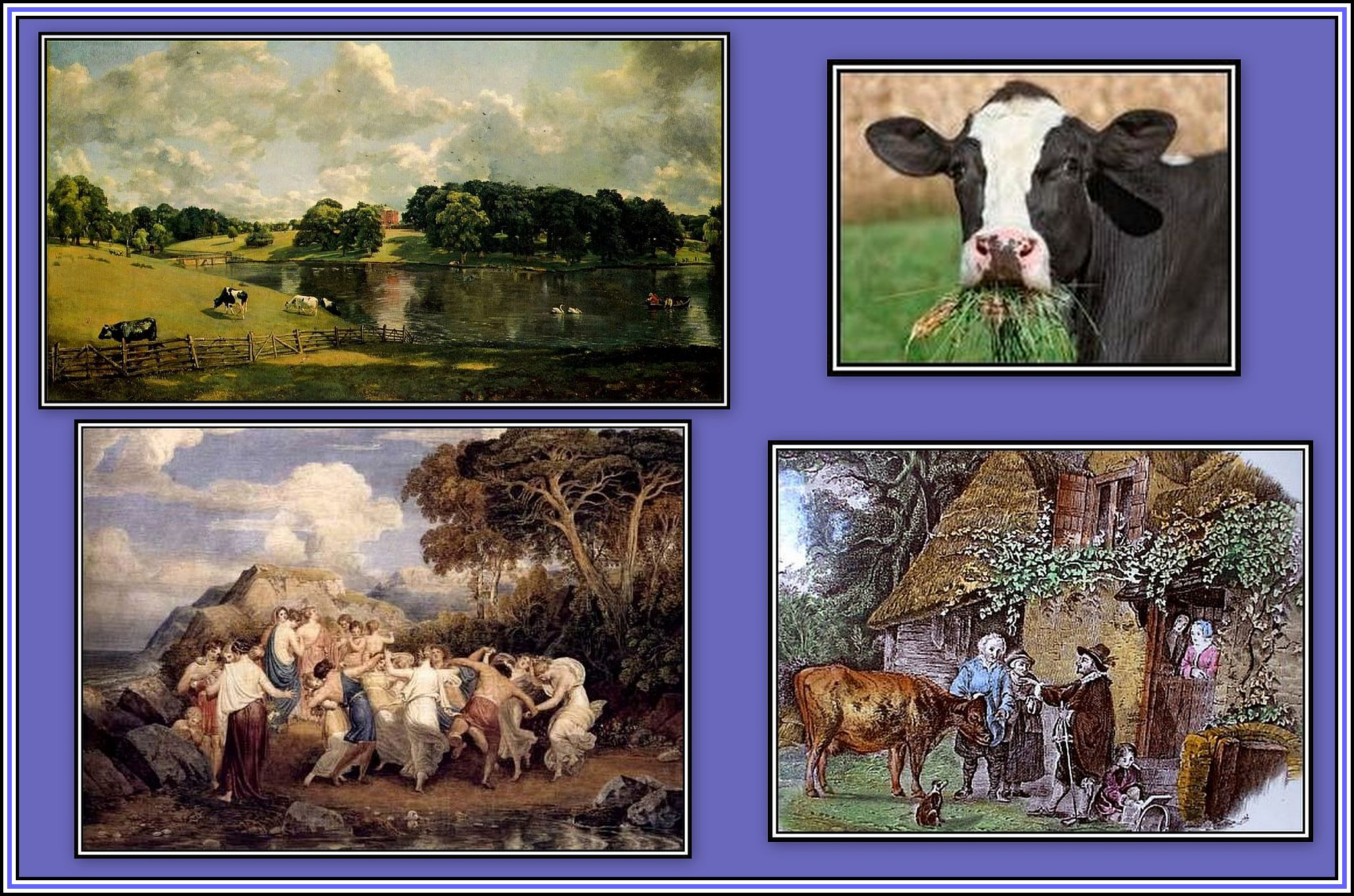 Nymphs and Shepherds Collage