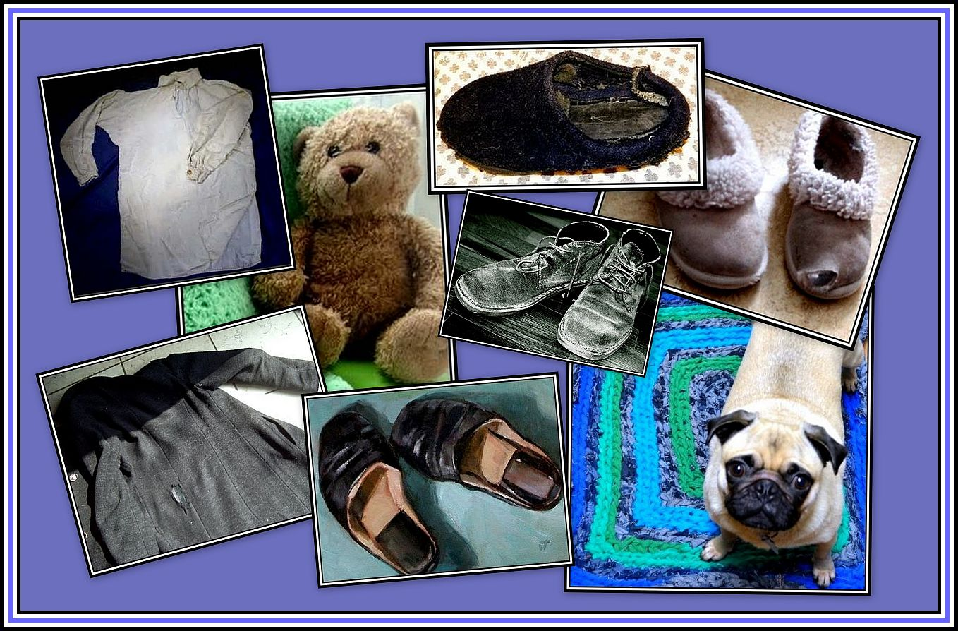 Old Slippers Collage