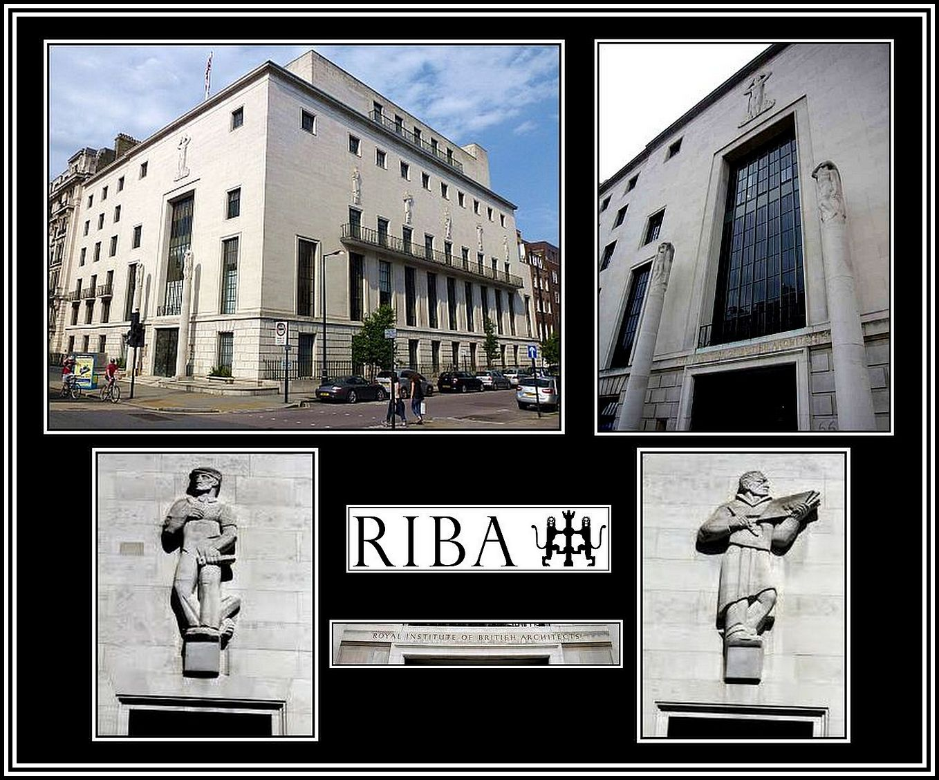 Royal Institute of British Architects Collage