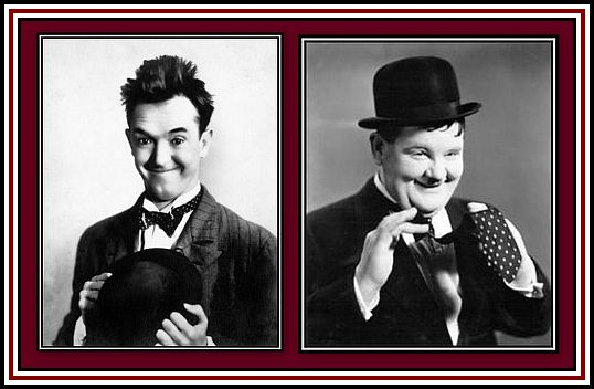Laurel and Hardy Collage