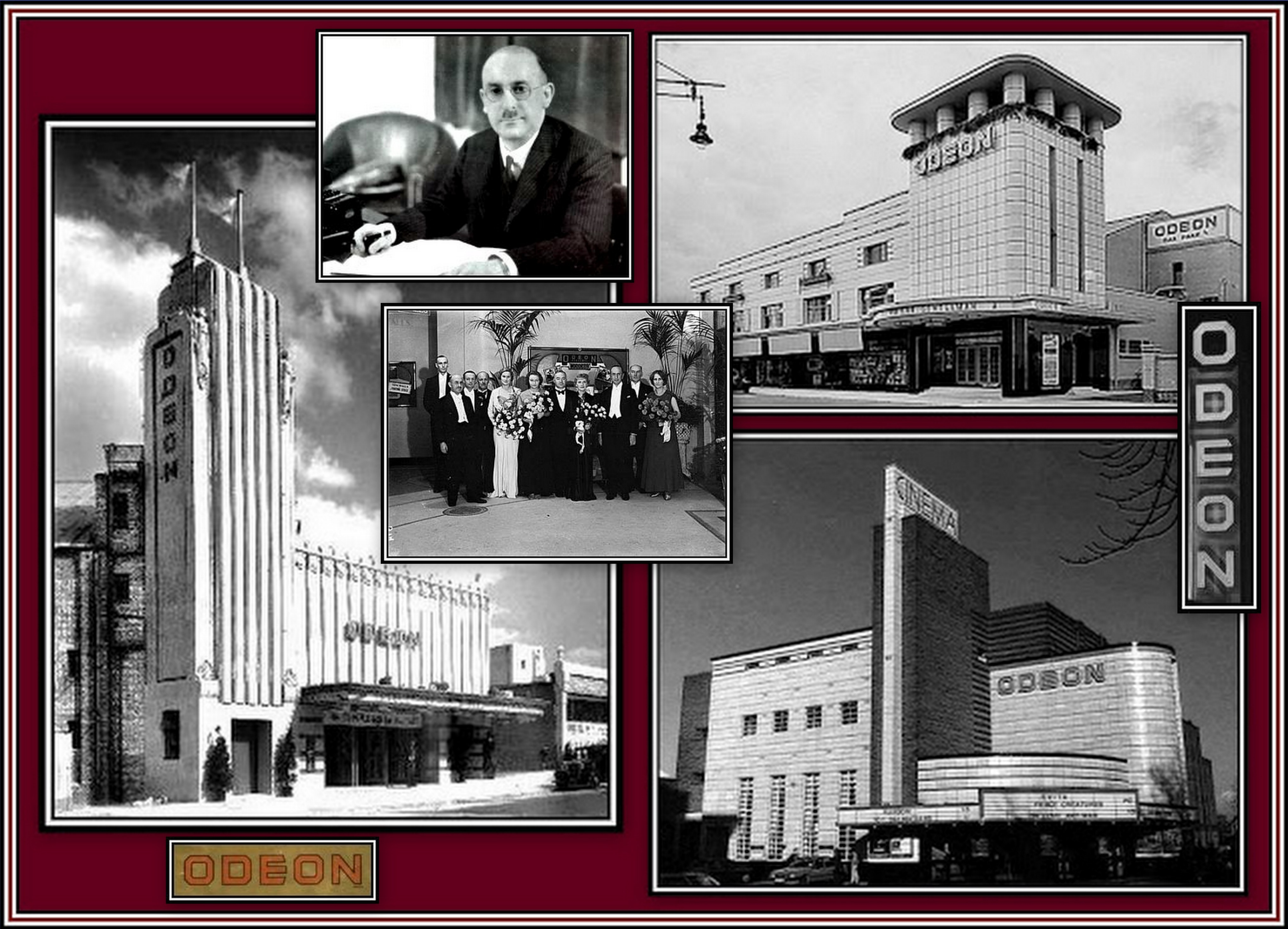 Odeon Overlay Collage