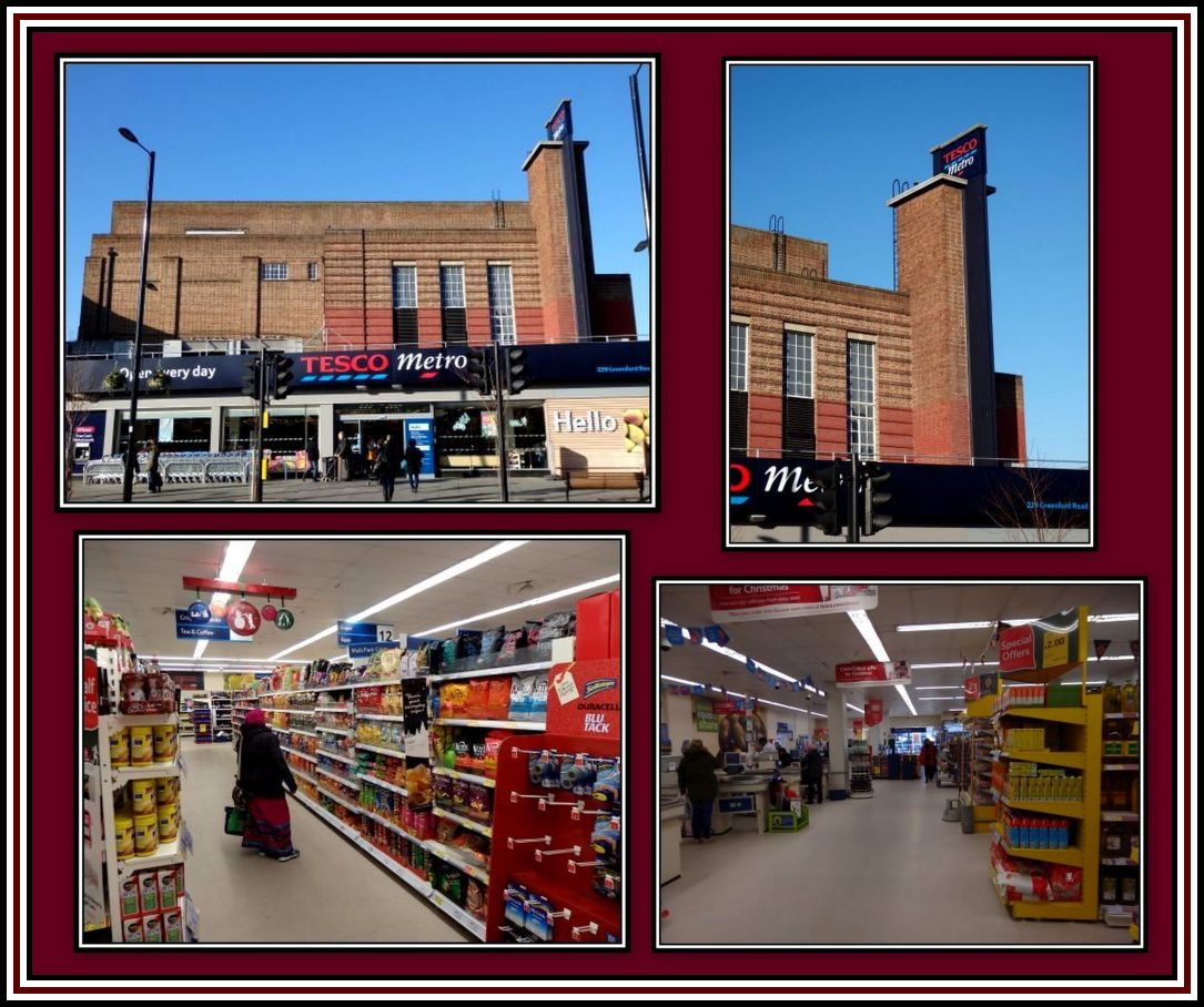 Tesco Greenford Collage