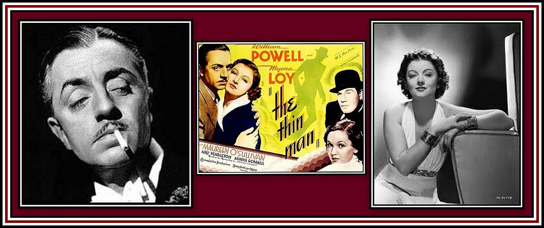 The Thin Man Collage