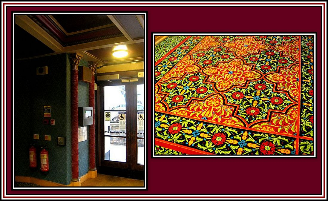 3. Reception Entrance and Carpet Collage