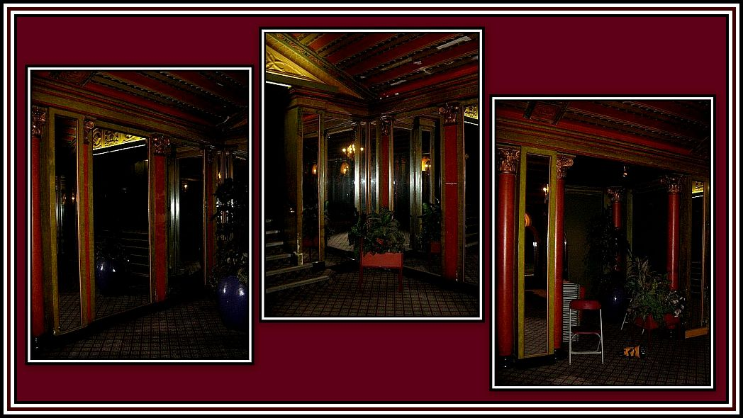 Alcoves and Mirrors Collage