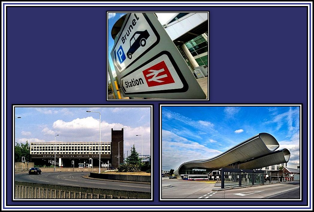 Bus Stations Collage
